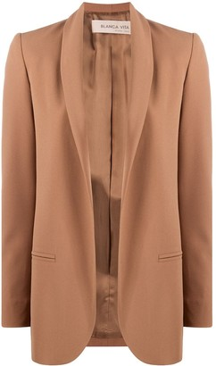 Blanca Vita Glenda open-front blazer