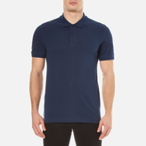 Belstaff Men's Granard Short Sleeve Polo Shirt Bright Indigo Melange