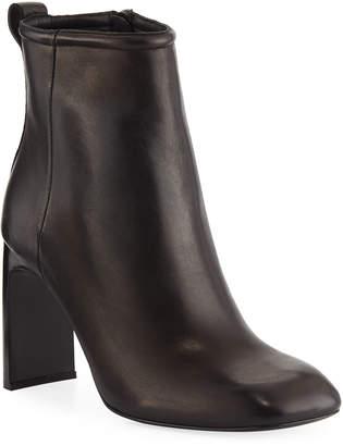 Rag & Bone Ellis Square-Toe Leather Booties
