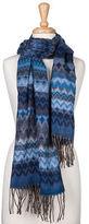 Condura NEW Acrylic & Polyester Jacquard Wrap Blue