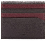Ted Baker Dinky Leather Double Color Bifold Card Holder