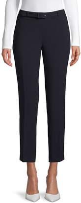 Karl Lagerfeld Paris Belted Skinny Pants