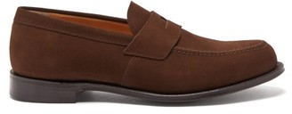Church's Dawley Suede Penny Loafers - Mens - Brown