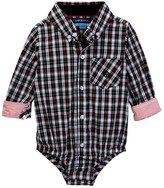 Andy & Evan Holiday Plaid Bodysuit (Baby Boys)