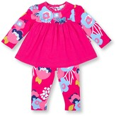 Le Top Think Pink Dress & Legging 2-Piece Set (Baby Girls 12-24M)