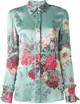 Antonio Marras floral print shirt - women - Silk/Acetate - 42