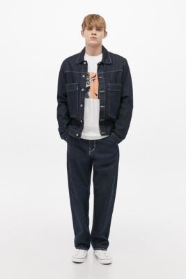 Edwin Dawn Denim Jacket - Blue XL at Urban Outfitters