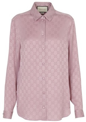 Gucci Paisley silk shirt