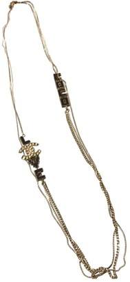 Chanel Anthracite Metal Long necklaces