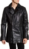 Rogue Genuine Leather Double Breasted Jacket