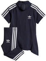 Adidas Pleated Dress and Pants Set