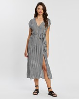MinkPink Set Free Midi Dress