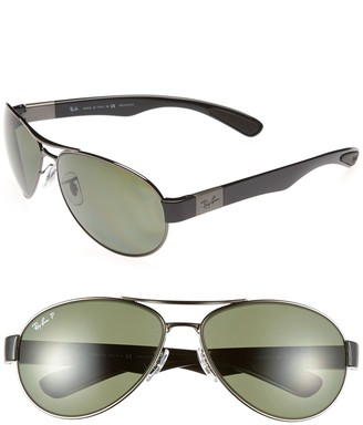 Ray-Ban 57mm Pilot Gunmetal Sunglasses