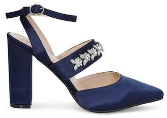 Dorothy Perkins Womens *Chi Chi London Navy Embellished Court Shoes, Navy