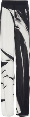 Jeffrey Dodd Wide Leg Printed Pants