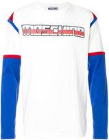 Moschino Transformer logo top - men - Cotton - 48