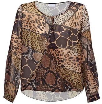 Alba Moda ANINA women's Blouse in Brown