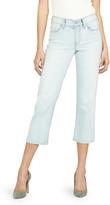 Hudson Stella Mid-Rise Crop Straight-Leg Jeans