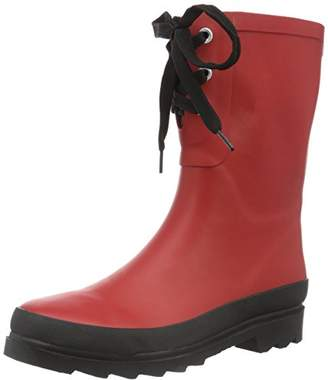 Sanita Women's Felicia Welly Ankle Boots, (Red 4 4), 5.5 UK