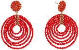 BaubleBar 30494 Clover Drops-Coral Red
