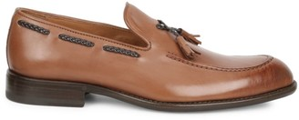 Bruno Magli Fabio Tassel Leather Loafers