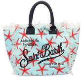MC2 Saint Barth Starfish Printed Canvas Bag