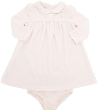 Ralph Lauren Chenille Dress & Jersey Diaper Cover