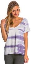 Under The Canopy Organic Short Sleeve Yoga Tee Shirt 8147632