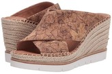 Kenneth Cole Gentle Souls By Gentle Souls by Elyssa X-Band Slide (Natural/Gold) Women's Shoes