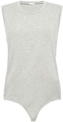 Alix Melange Stretch-modal Bodysuit