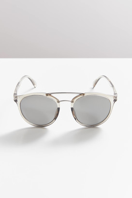 Shiloh Brow Bar Round Sunglasses