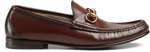 2f09c9c77a7 Gucci Brown Leather Men s Shoes