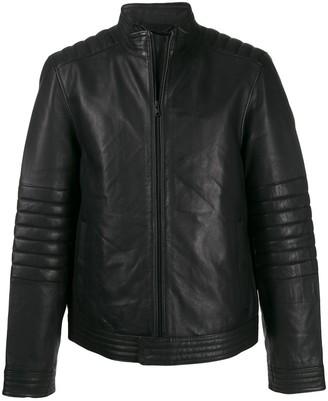 Calvin Klein Zipped Biker Jacket