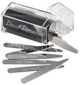 David Donahue Brass Collar Stays - quantity of 18