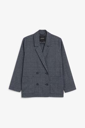 Monki Double breasted blazer