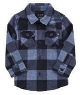 F&F Brushed Checked Shirt 12-18 months