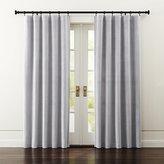 Crate & Barrel Windsor Light Grey Curtains