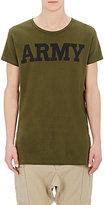 Nlst Men's Army T-Shirt-Dark Green Size S