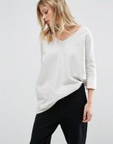 Noisy May Deep V Oversize Sweatshirt