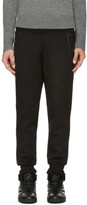 DSQUARED2 Black Fleece Lounge Pants