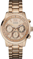 GUESS W0330L2 Sunrise rose gold-toned stainless steel watch