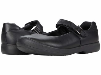 Stride Rite Girls' SR Ainsley Mary Jane Flat Black 2 Little Kid W