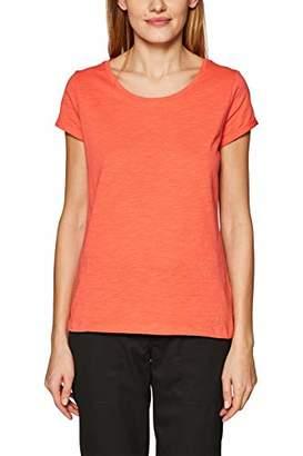 Esprit edc by Women's 999cc1k802 Long Sleeve Top, (White 100), Medium