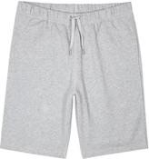 Sunspel Grey Loopback Cotton Shorts