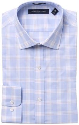 Tommy Hilfiger Plaid Print Stretch Slim Fit Shirt