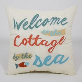 Essentials ''Welcome to the Cottage'' Throw Pillow