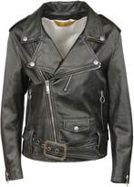 Golden Goose Deluxe Brand Gem Stones Leather Biker Jacket