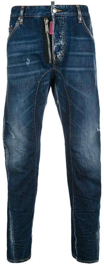 DSQUARED2 Be Nice relaxed fit denim jeans