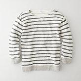 STEVEN ALAN dagney striped sweatshirt