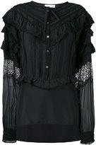 Faith Connexion ruffled shirt - women - Silk/Cotton/Polyamide - XS